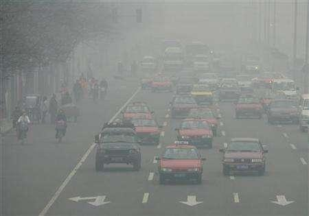 beijing car pollution