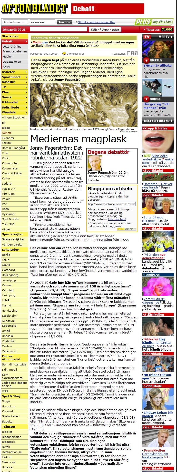 aftonbladet fagerstrom 28 sept