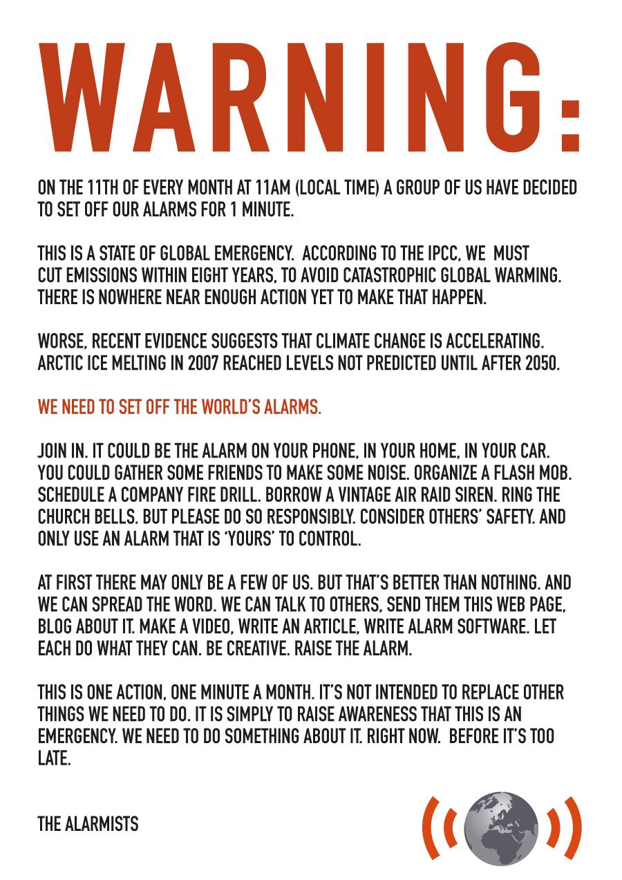 alarmism