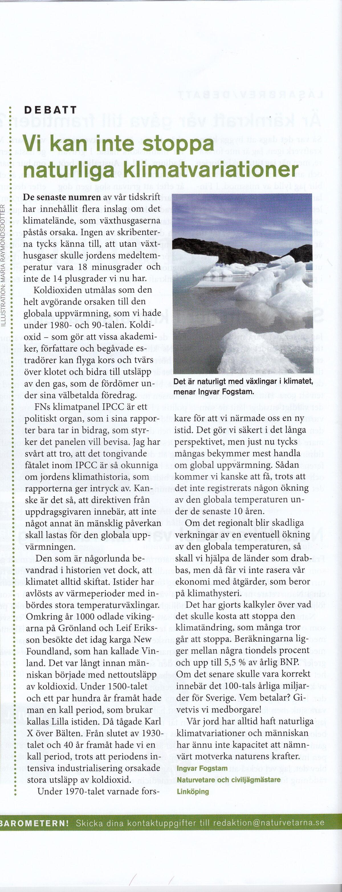 naturvetaren 3b 2009