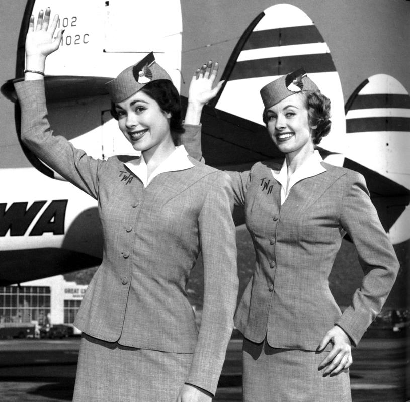 stewardess 1950s