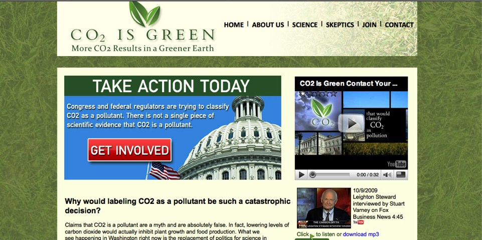 co2 is green