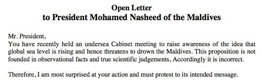 open letter Mörner