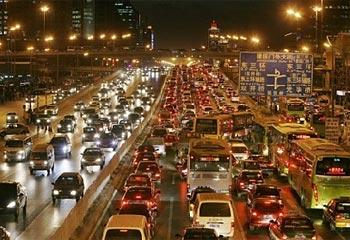 Beijing trafficReuters 5898689