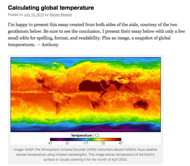 Calculating global temperature Watts Up With That