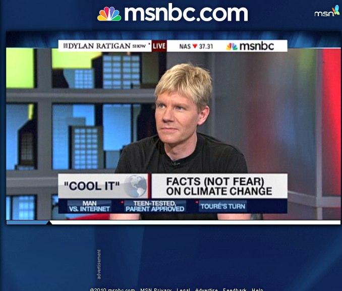 Bjorn Lomborg MSNBC