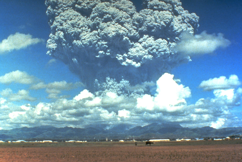 Pinatubo vulkan eruption