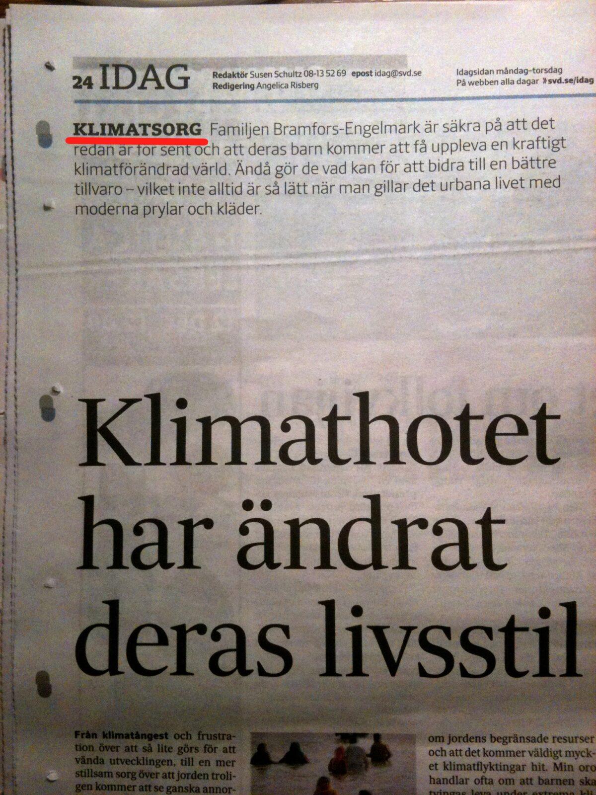 klimatsorg