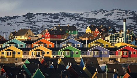 greenland town