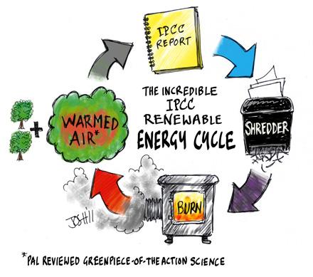 Josh om framtidens energi enligt IPCC
