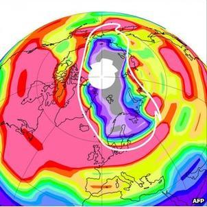 Ozonhål Arktis