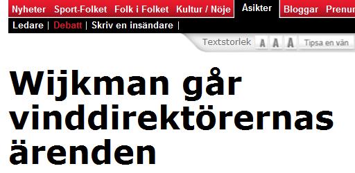 Wijkman Folket