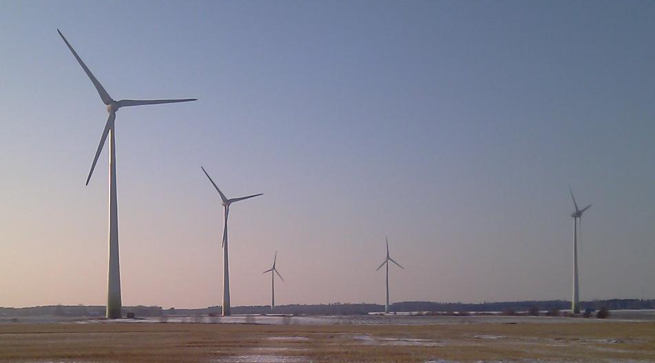 Vindfkraft och landsbygd