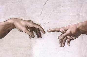 Hands of God and Adam
