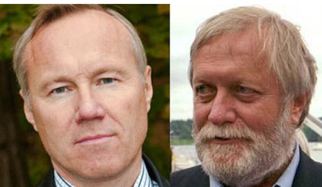 Jonny Fagerström och Björn Törnvall
