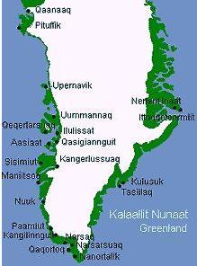 Grönland karta