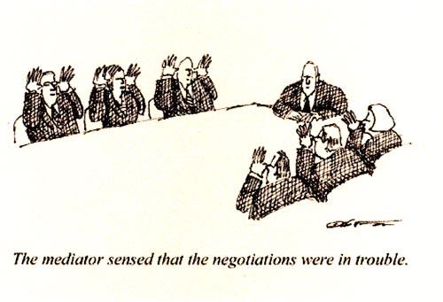 förhandlingar
