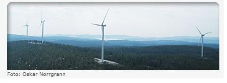 Vindkraft Västernorrland
