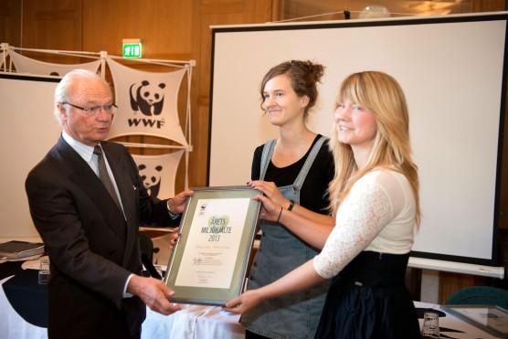 Kungen WWF pris