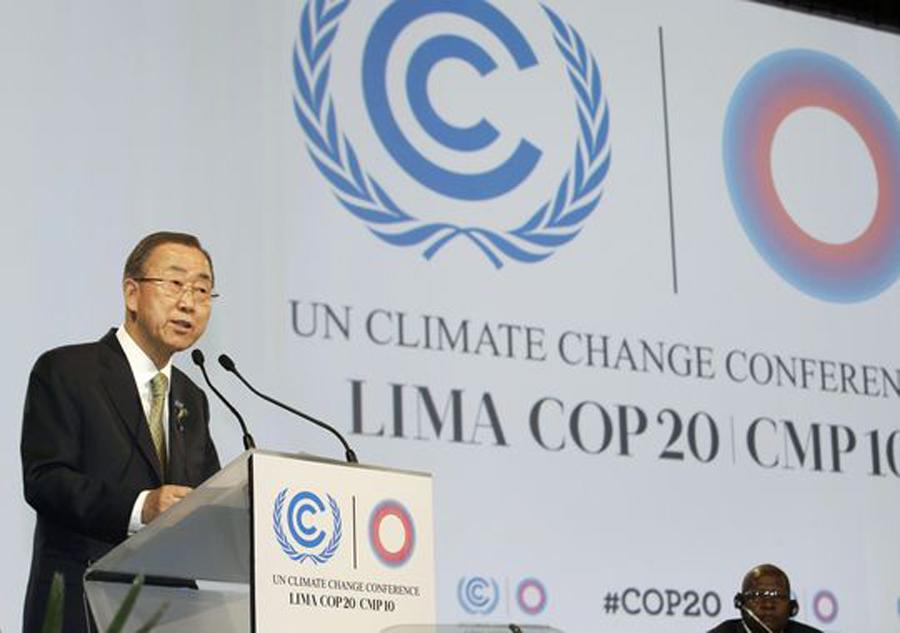 Ban Ki Moon Lima