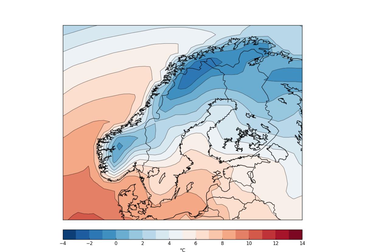 ecmwf temp nordic