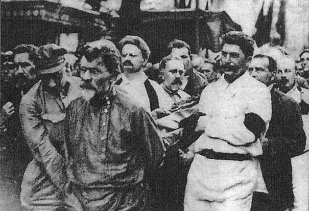 trotsky o stalin