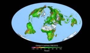 greening earth