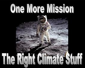 one more mission the right climate stuff